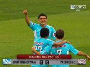 Descentralizado 2013: Goles del Cristal vs. Pacífico FC (VIDEO)