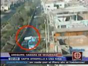 Arequipa: Cámara de seguridad captó atropello de niña en Alto Selva Alegre (VIDEO)