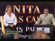 """Al fondo hay sitio"": 'Anita Miller' presenta su conferencia ""Chicken party"" (VIDEO)"