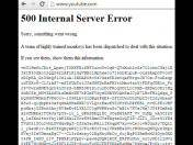 ¿Hackeo o error en YouTube? (VIDEO)