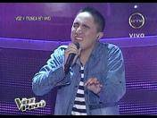 """La voz Perú"": Kalimba pone dificil reto a Johnny Lau (VIDEO)"