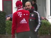 "Pep Guardiola grita a Bastian Schweinsteiger: ""¡Usa la cabeza!"" (VIDEO)"