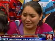 Independencia: Niño de siete años murió atropellado en Av. Túpac Amaru (VIDEO)