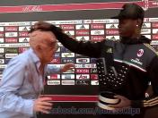 ¿Mario Balotelli fue atacado por un zombi? (VIDEO)