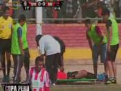 Copa Perú 2013: Brutal agresión en la final entre Unión Huaral vs. San Simón (VIDEO)