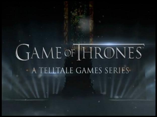 [VGX 2013] Telltale Games anuncia juego de Game of Thrones (VIDEO)