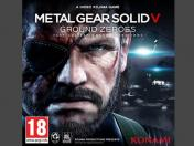 Metal Gear Solid V: Ground Zeroes muestra su portada oficial