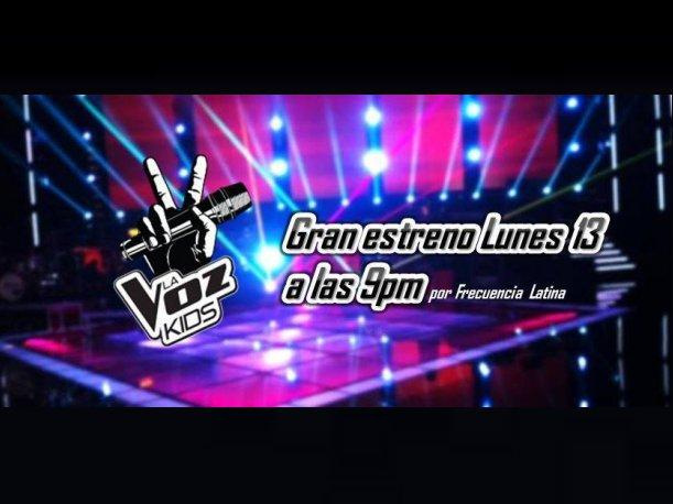 """La Voz Kids"": Este lunes 13 de enero inicia el reality de canto (VIDEO)"