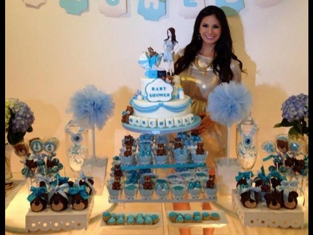 Sully Sáenz y Evan Piccolotto celebraron baby shower de Marchello (FOTOS)