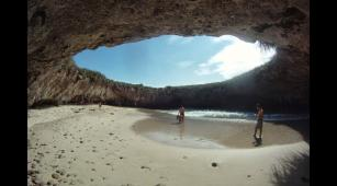 Islas Marietas y su playa escondida: un paraíso natural (FOTOS)