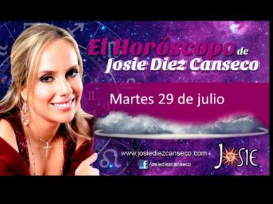 Josie: Horóscopo del martes 29 de julio (VIDEO)