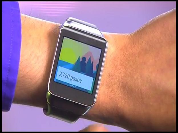 Android Wear en un reloj inteligente: ¿Cómo funciona? (VIDEO)