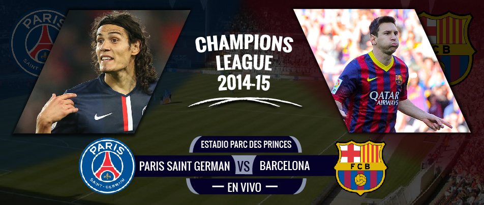 PSG 3-2 Barcelona, en vivo por la Champions League