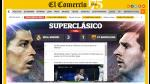 Real Madrid vs. Barcelona: Portadas en medios nacionales (FOTOS) - Noticias de pepe