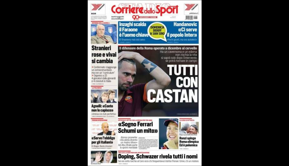 Barcelona y Real Madrid destacan en portadas internacionales (FOTOS)