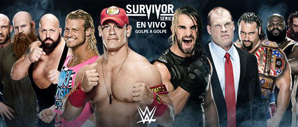 WWE Survivor Series EN VIVO, Team Cena vs. Team Authority