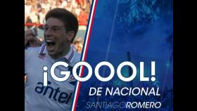 Universitario vs. Nacional: El gol de Santiago Romero (VIDEO)
