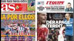 Champions League destaca en las portadas internacionales (FOTOS) - Noticias de dimitar berbatov