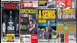 La Champions League es noticia en todas las portadas (FOTOS) - Noticias de mónaco fc