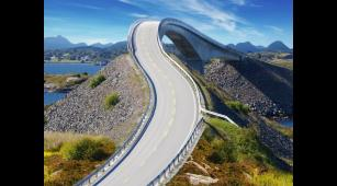 Noruega: Pasea por Atlantic Road, carretera imposible del mundo