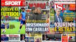 José Mourinho vs Iker Casillas en portadas internacionales (FOTOS) - Noticias de julio ruiz