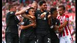 Liverpool vence con dificultad al Stoke City por la Premier League - Noticias de mark henderson