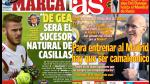 Real Madrid y David de Gea en las portadas internacionales (FOTOS) - Noticias de victor valdes