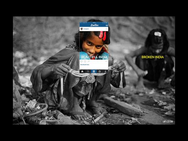 Instagram: Esto se esconde tras las fotos turísticas de India