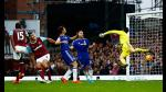 Chelsea cayó ante el West Ham en la Premier League (VIDEO) - Noticias de andy carroll
