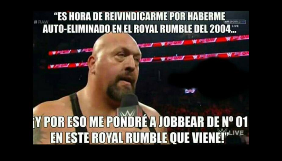 WWE Royal Rumble los más divertidos memes previo al evento de lucha libre