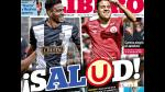 Alianza Lima y Universitario en las portadas deportivas (FOTOS) - Noticias de william mimbela