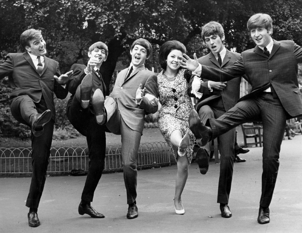 The Beatles causaba furor entre sus fanáticos (Getty Images)