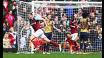 West Ham vs Arsenal: partidazo de seis goles en la Premier League - Noticias de andy carroll