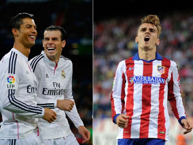 Real Madrid vs Atlético de Madrid: los 10 futbolistas mejor pagados en Champions League