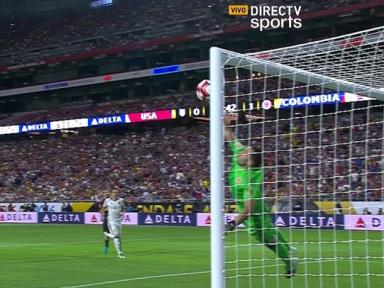 Estados Unidos vs Colombia: espectacular atajada de David Ospina