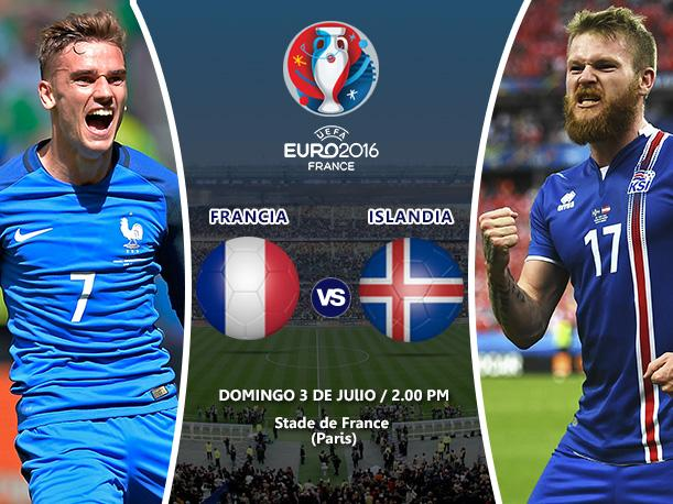 Francia vs Islandia En Vivo Streaming TV