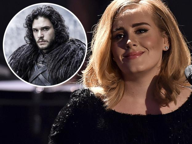 Adele debutará en el cine con Kit Harington, 'Jon Snow' de Game of Thrones