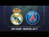 Real Madrid vs PSG. (Foto: ICC)