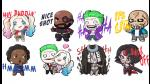 Facebook Messenger añade divertidos stickers del Suicide Squad - Noticias de warner bros