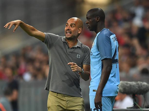 Pep Guardiola no inscribió a Yaya Touré en la Champions League