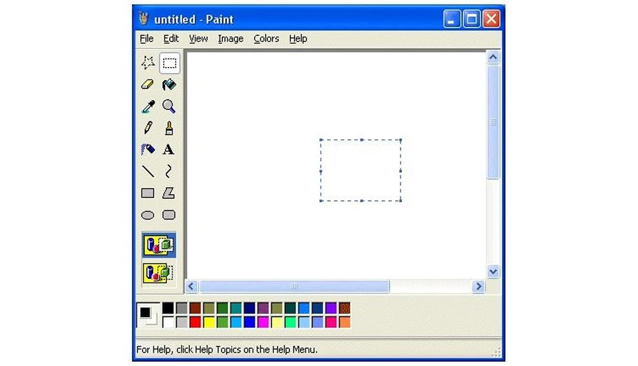 Where Is The Paint Program In Windows Xp Software Free