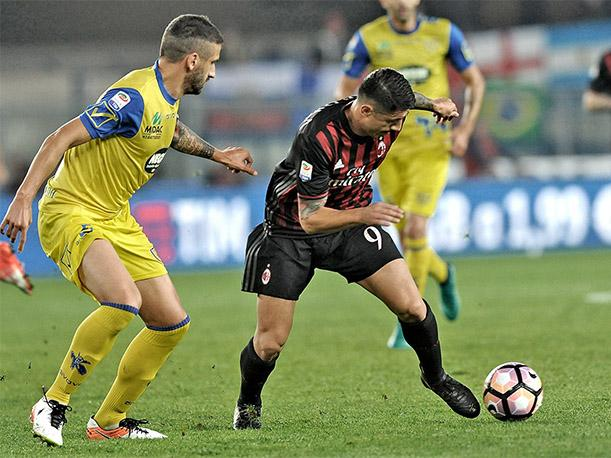 Gianluca Lapadula no anotó, pero destruyó la defensa del Chievo con esta jugada