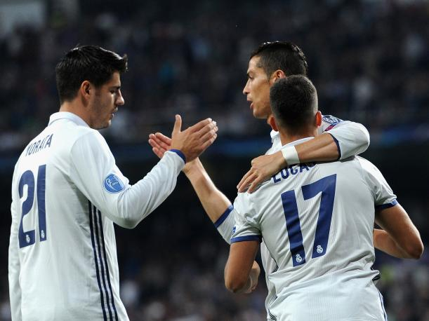 "Real Madrid ""destruyó"" 5-1 al Legia Varsovia por la Champions League"
