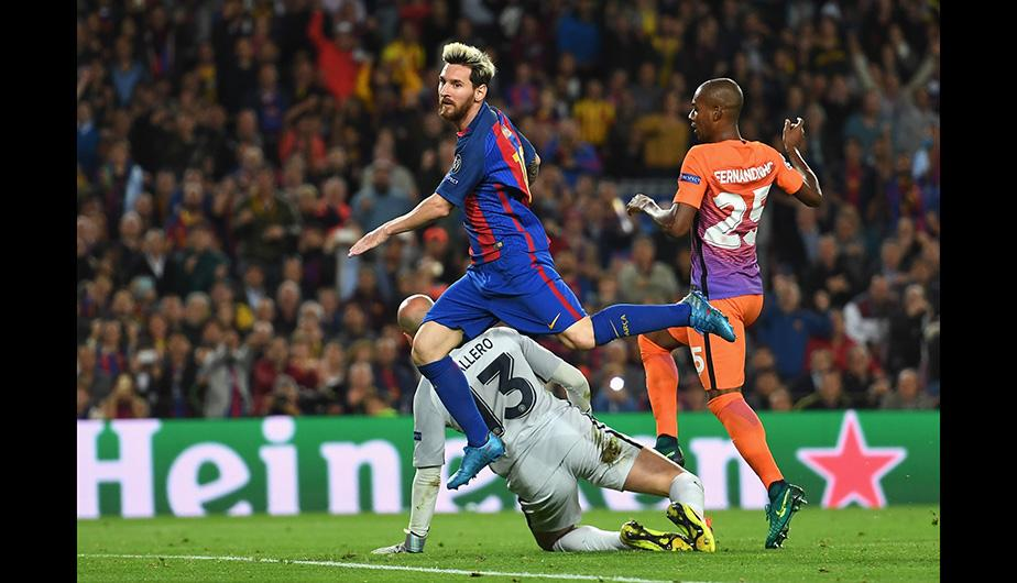 Messi y el Barcelona humillan a Guardiola — Champions League