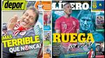 Universitario de Deportes y Jefferson Farfán son portadas en diarios locales - Noticias de france football