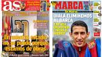Champions League, Real Madrid y Copa del Rey destacan en portadas internacionales - Noticias de maria perez