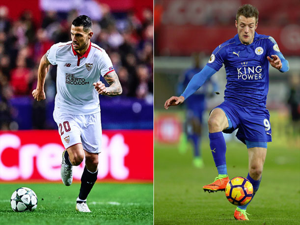 Image result for Sevilla vs Leicester
