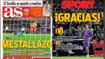 Derrota del Real Madrid ante Valencia en portadas internacionales - Noticias de real madrid iker casillas