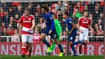 Manchester United vs Middlesbrough: resultado, resumen y goles por la Premier League - Noticias de jose rojas