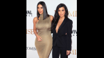 Kim Kardashian y Kourtney Kardashian asisten a evento sin ropa interior - Noticias de kourtney kardashian